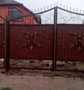 Кованые Ворота , заборы ,