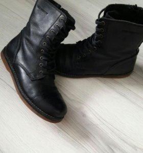 Ботинки демесезонные кожа