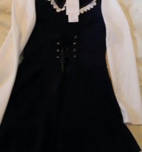 Новые школьное платье