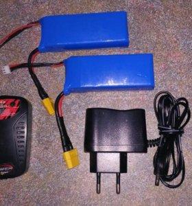 Аккумуляторы LiPo 2s 2500mah