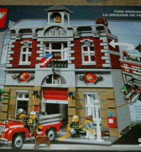 Новый конструктор Lepin 15004 Пожарный участок