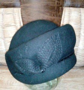 Новая шляпка фетровая
