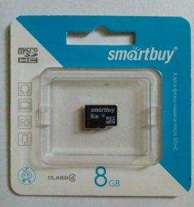 Карта памяти SmartBuy MicroSD