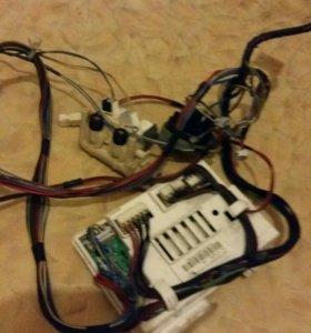 Клапан и модуль для стиральной машинки индезит