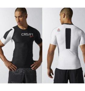 Компрессионная футболка (рашгард) Reebok crossfit