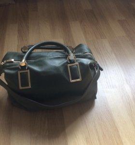 Кожаная сумка Alba