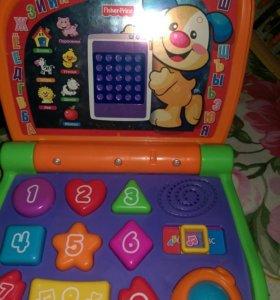 Детский компьютер,ноутбук
