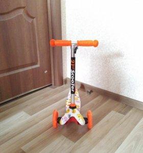 Самокат детский Скутер Мини