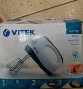 Миксер Vitek vt-1410 w