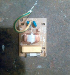 Блок управления вентилятором в СВЧ