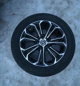 Комплект колес от Opel Astra/Yokohama 205/55 r16
