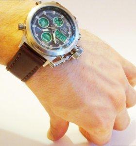 Мужские водонепроницаемые часы Amst