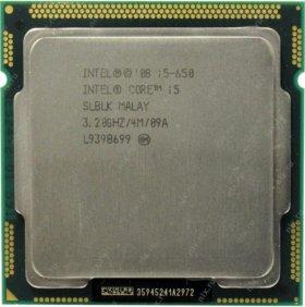 Процессор intel core i5 650 3.20ghz lga1156