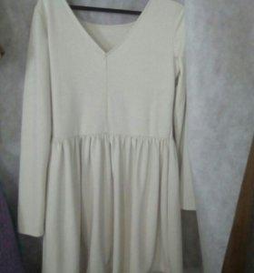 Платье белое красивое