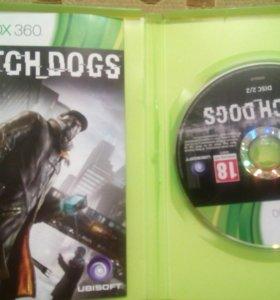 Диск для Xbox 360 (WATCH_DOGS)