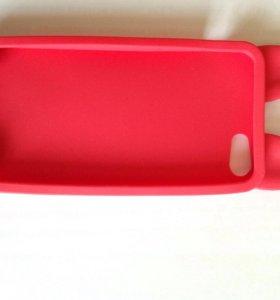 Силиконовый чехол для iPhone 5
