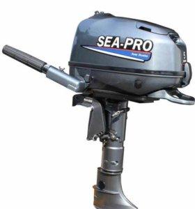 Мотор SEA-PRO 5 л.с. Четырехтактный.