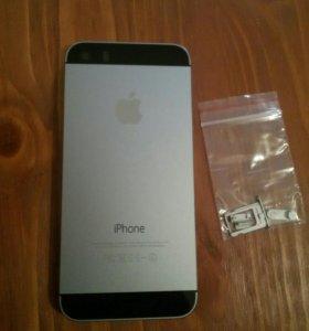 Задняя крышка iphone 5s серая