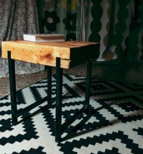 Журнальный стол в стиле LOFT