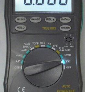 HoldPeak HP-890CN ЖК-Цифровой Мультиметр DC AC