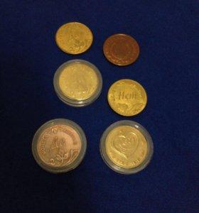 Сувенирные монетки да/нет и другие
