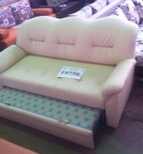 Новый двуспальный диван из Экокожи от Арбата