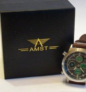 Мужские ударопрочные часы AMST (АМСТ)