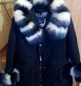 Куртка-пуховик женская