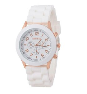 Белые часы