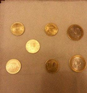 ..Юбилейный. .монеты