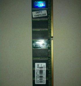 Оперативная память для ПК 512M DDR400 DIMM 3-3-3