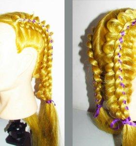 Прически,покраска укладка,плетение кос