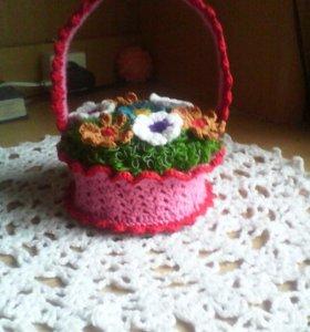 Декоративная карзиночка