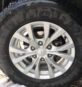 Dunlop grand trek 265/65 r17