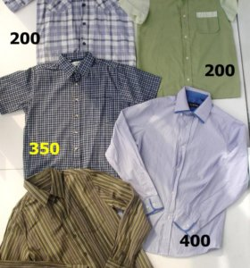 Рубашки 11-12 лет