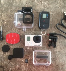 GoPro hero 3+ black edition + 32gb + 2 батареи