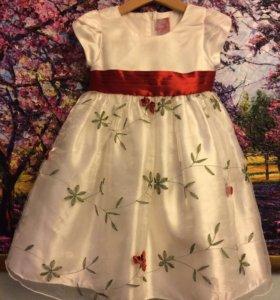 Нарядное платье на девочку 👧