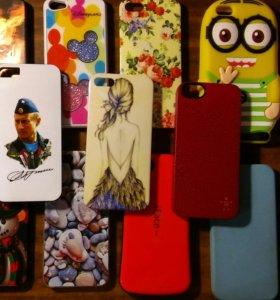 Чехлы для айфона 5,5s