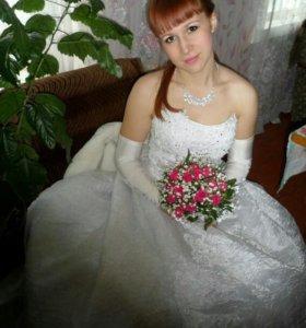 Продам свадебное платье дешево!!!