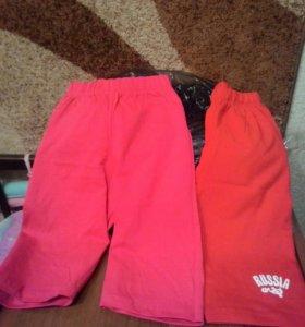 Новые удлиненные шорты для девочек