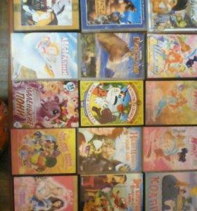 DVD мультики.
