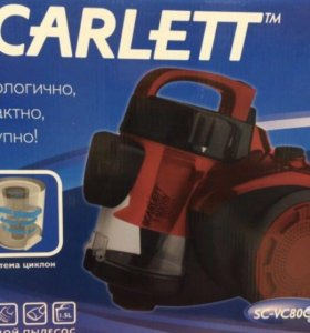 Новый Пылесос Scarlett SC-VC80C11