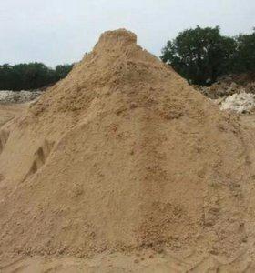 Песок строительный вид - 4335