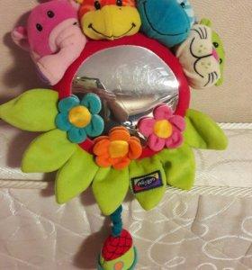 Playgro Подвесная игрушка с зеркальцем