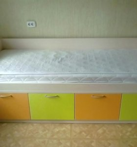 Детская кровать-комод