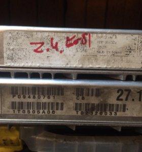 Блок управления двигателя и акпп