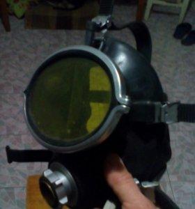 Маска для акваланга.