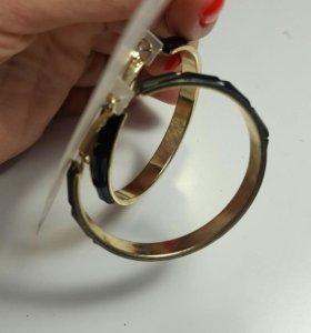 Серьги -кольца