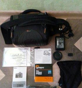 Фотоаппарат Nikon D90 Kit 18-105