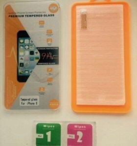 защитное стекло Iphone 5/5s, 6/6s, 7.